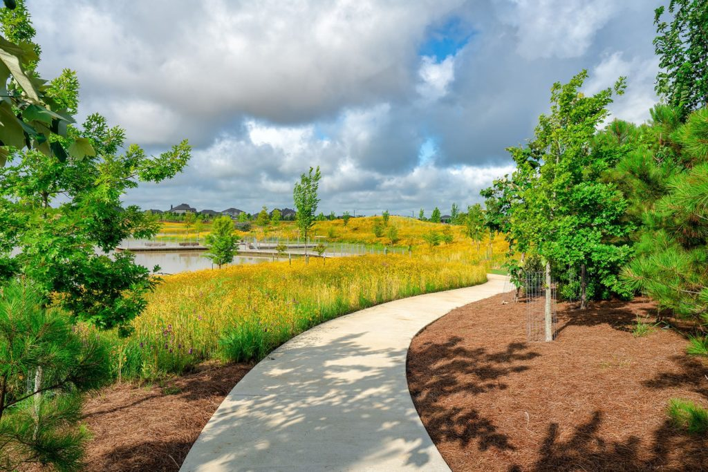 Bridgeland Josey Lake Park Trail