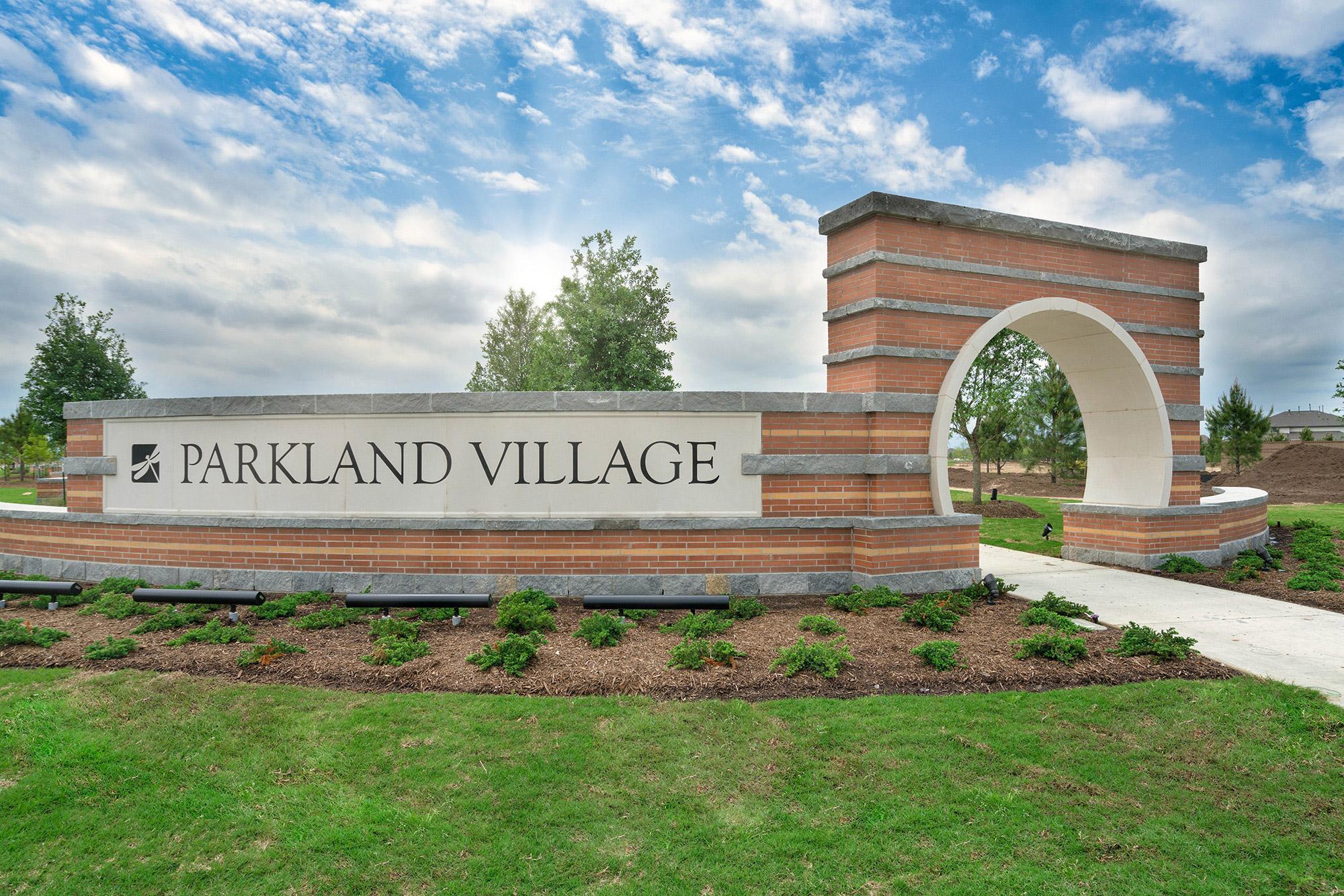 Bridgeland - Parkland Village Entrance